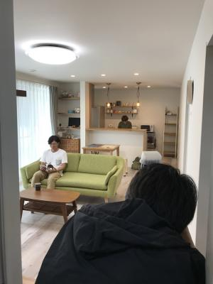 image 雑誌に掲載予定のお客様宅を取材&撮影!
